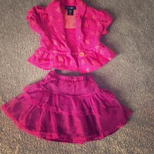 Other - Cropped jacket 4T and tulle skirt 4T